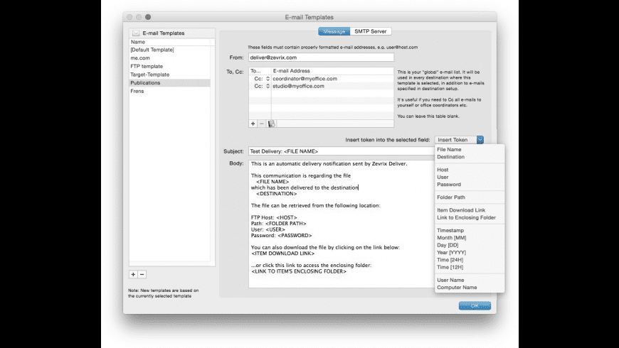 Deliver Express Basic for Mac - review, screenshots