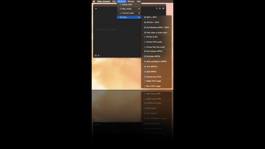 Video Ambush for Mac - review, screenshots
