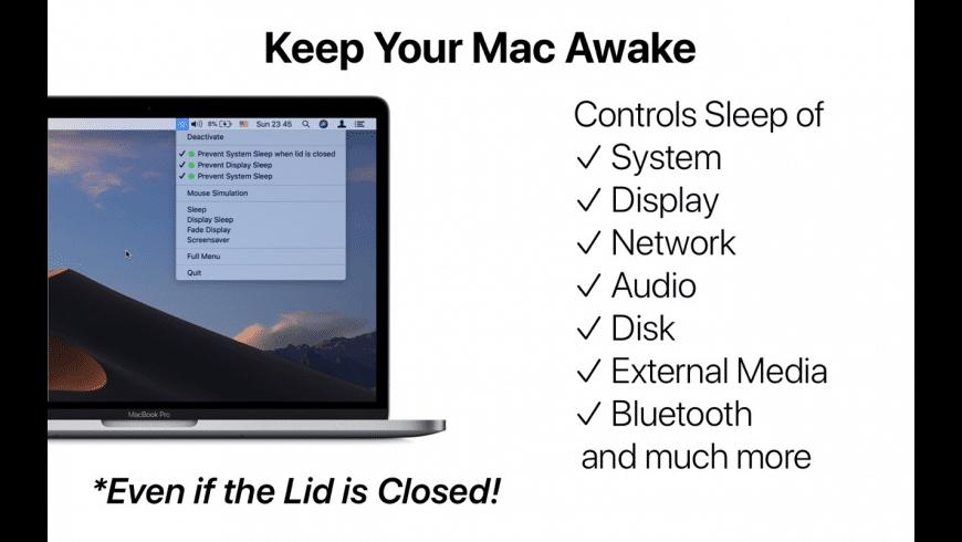Sleep Control Center for Mac - review, screenshots