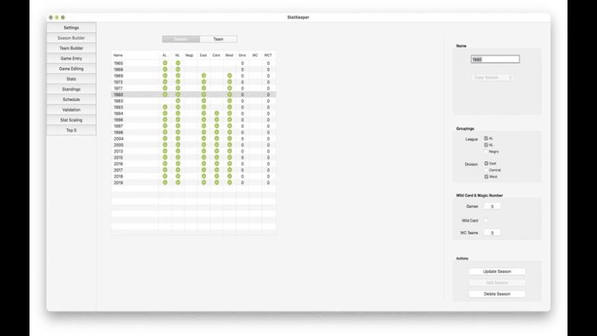 StatKeeper for Mac - review, screenshots