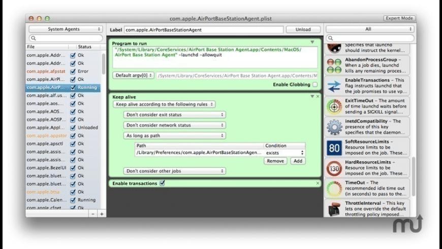 LaunchControl for Mac - review, screenshots