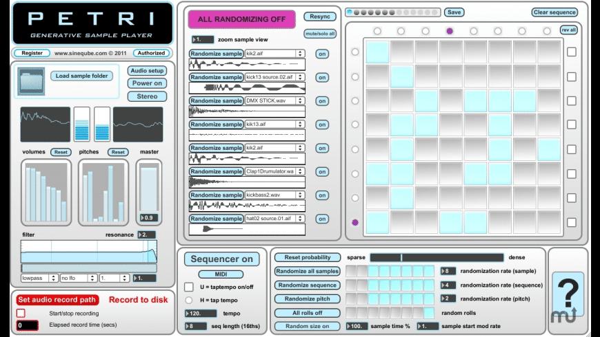 Petri for Mac - review, screenshots