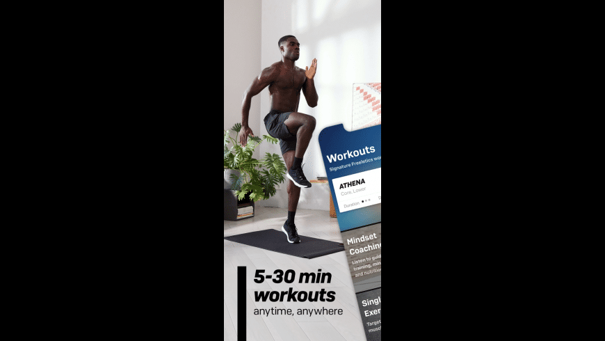 Freeletics HIIT Fitness Coach for Mac - review, screenshots