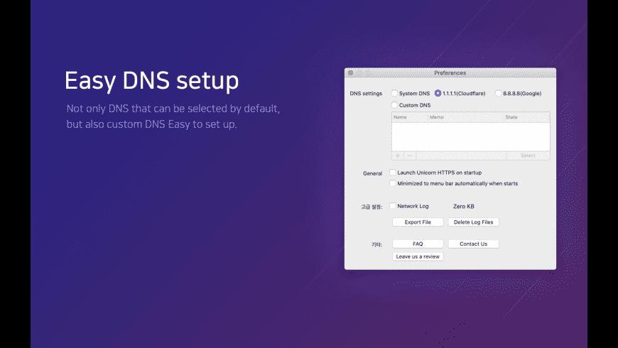 Unicorn HTTPS for Mac - review, screenshots