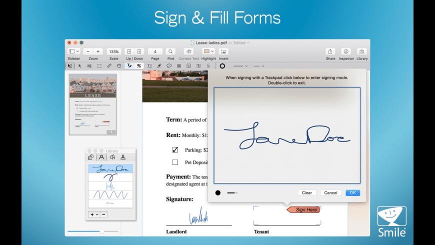 PDFpen for Mac - review, screenshots
