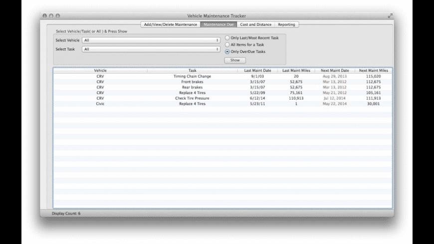 VMT for Mac - review, screenshots
