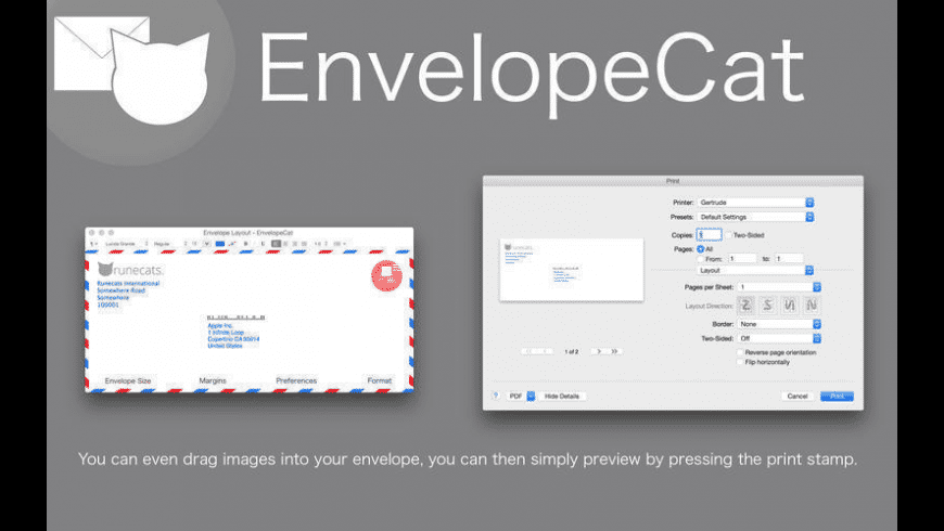 EnvelopeCat for Mac - review, screenshots