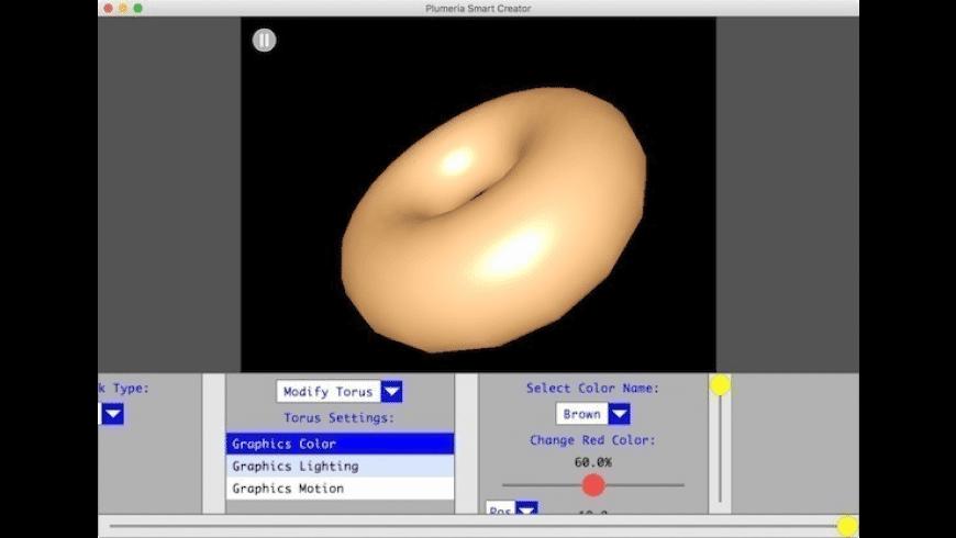 Plumeria Smart Creator for Mac - review, screenshots