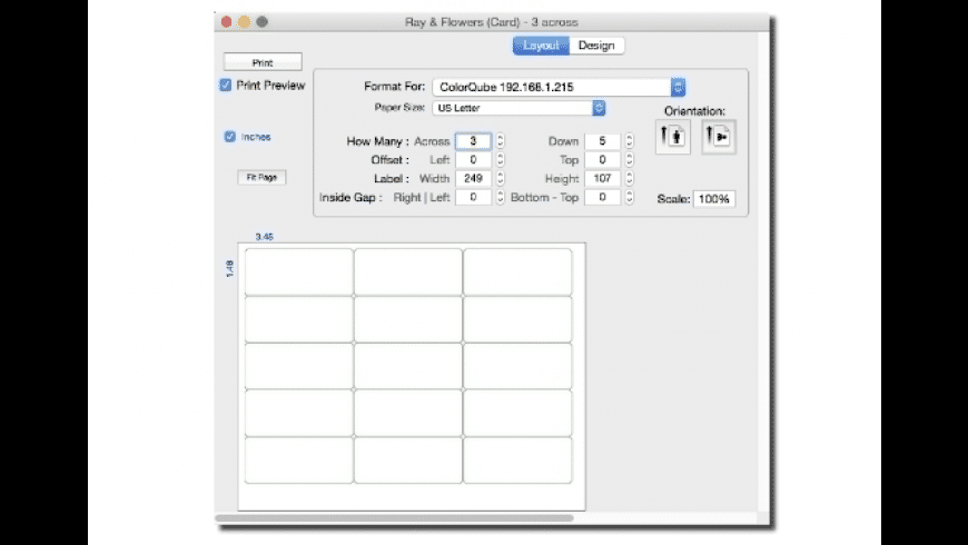 TicketPrint2 for Mac - review, screenshots