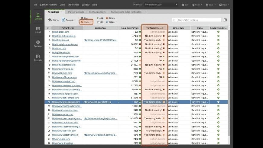 LinkAssistant for Mac - review, screenshots