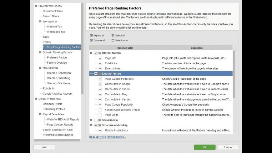 SEO SpyGlass for Mac - review, screenshots