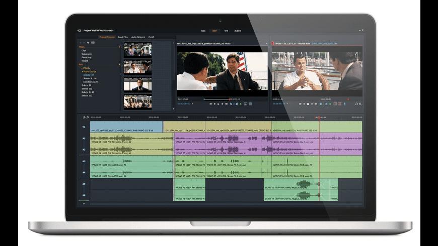 Lightworks for Mac - review, screenshots