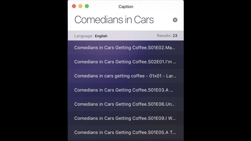 Caption for Mac - review, screenshots
