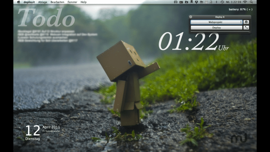DeployIt for Mac - review, screenshots