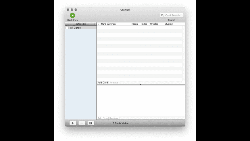 flexCard for Mac - review, screenshots