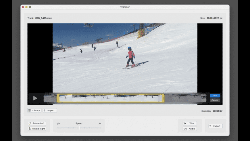 Trimmer for Mac - review, screenshots