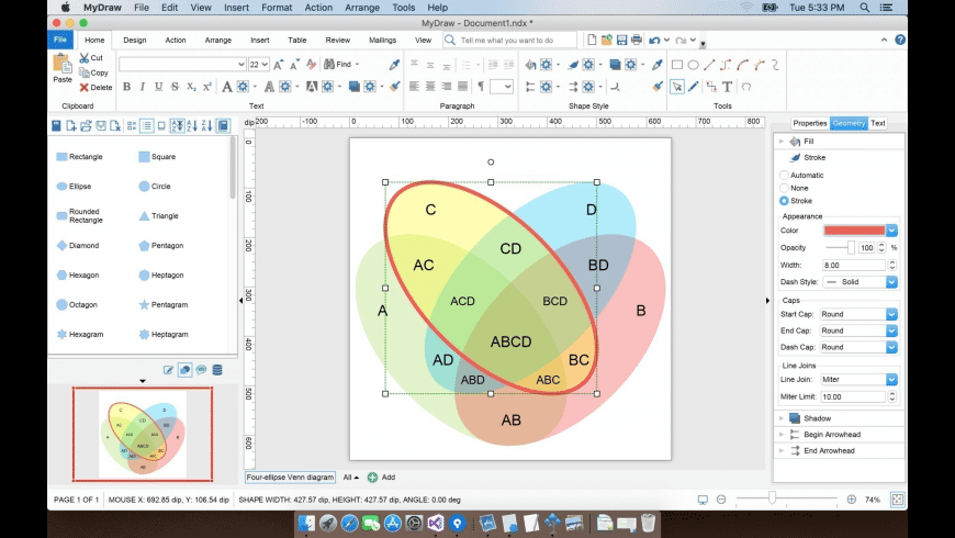 MyDraw for Mac - review, screenshots