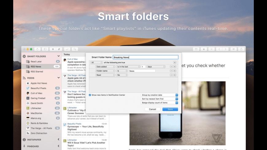 ReadKit for Mac - review, screenshots