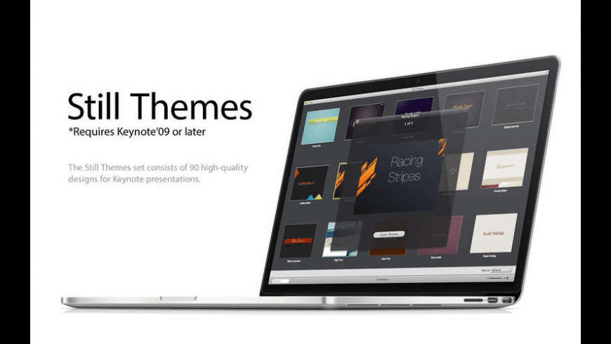 Still Themes for Mac - review, screenshots
