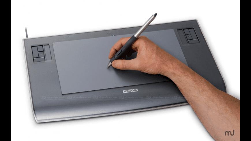 Wacom Tablet Driver for Mac - review, screenshots