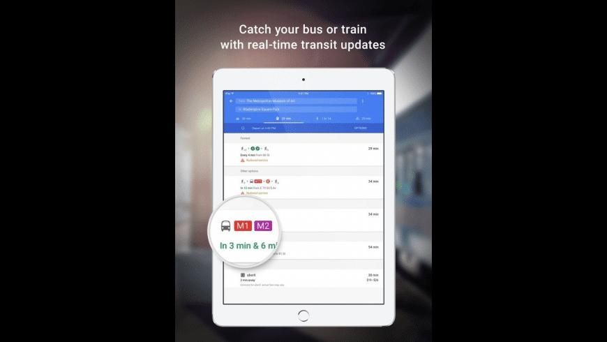 Google Maps for Mac - review, screenshots