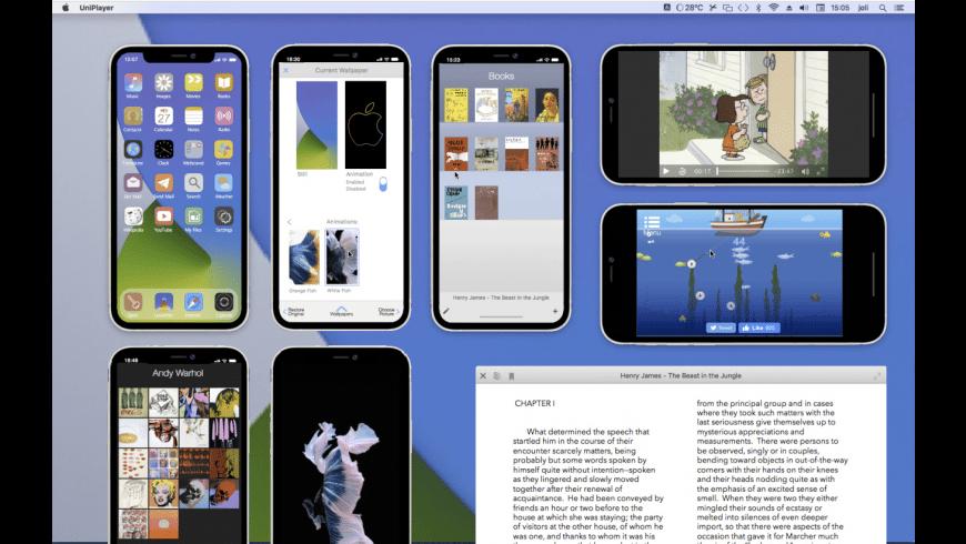 UniPlayer for Mac - review, screenshots