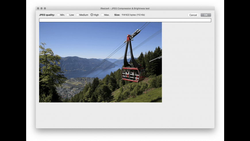 iResize for Mac - review, screenshots
