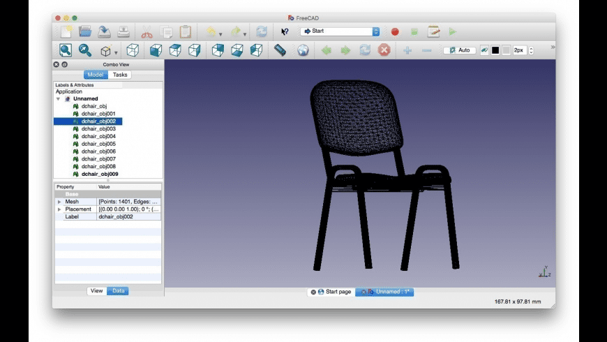 FreeCAD for Mac - review, screenshots