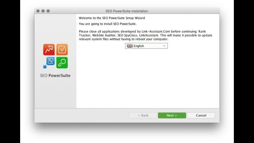 SEO PowerSuite for Mac - review, screenshots