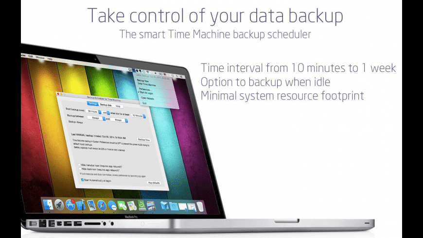 Backup Scheduler for Mac - review, screenshots
