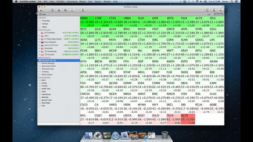 Portfolio mobile for Mac - review, screenshots