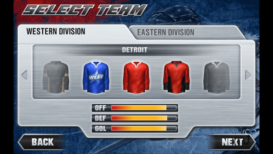 Hockey Nations 2011 for Mac - review, screenshots