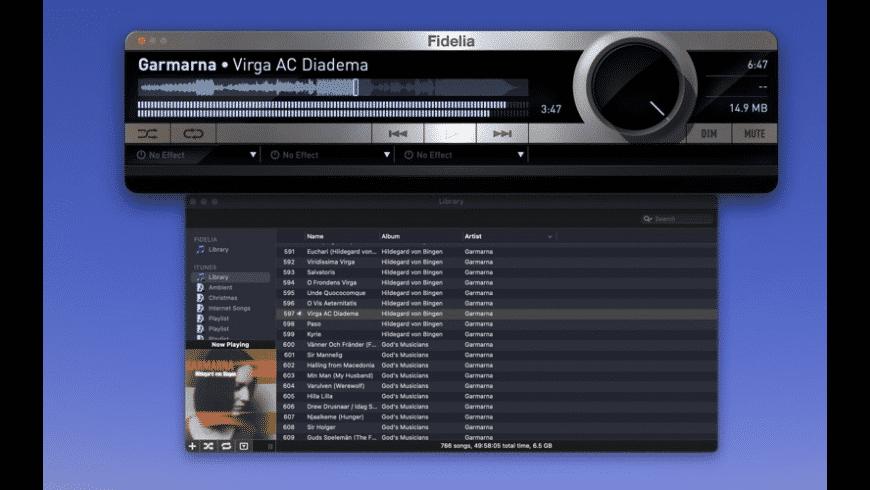 Fidelia for Mac - review, screenshots