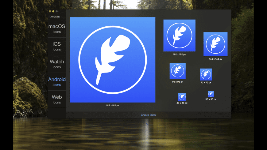 IconFly for Mac - review, screenshots
