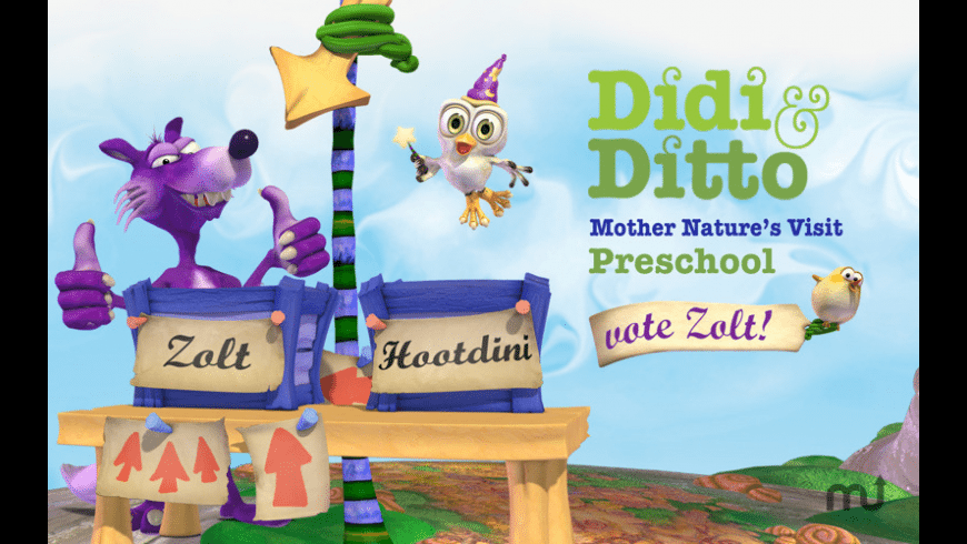 Didi and Ditto Preschool for Mac - review, screenshots