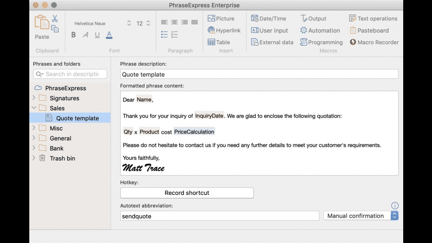 PhraseExpress for Mac: Free Download + Review [Latest Version]