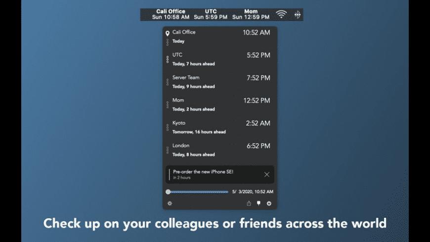 Clocker for Mac - review, screenshots