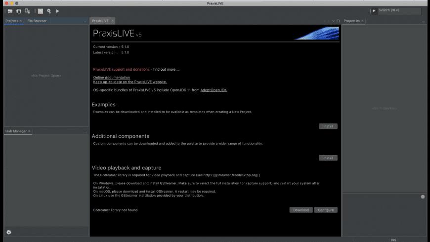 PraxisLIVE for Mac - review, screenshots