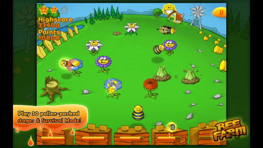 Bee Farm for Mac - review, screenshots