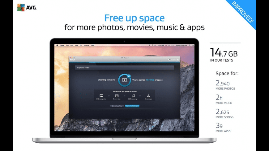 AVG Cleaner for Mac - review, screenshots