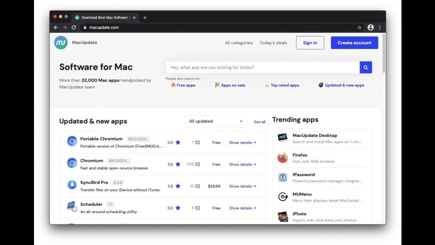 Chromium for Mac - review, screenshots