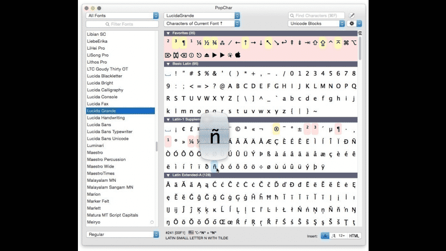 PopChar Family Pack (5 licenses) for Mac - review, screenshots