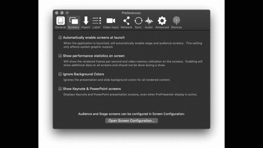 ProPresenter for Mac - review, screenshots