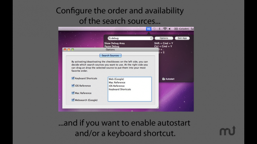 X4Shortcuts for Mac - review, screenshots