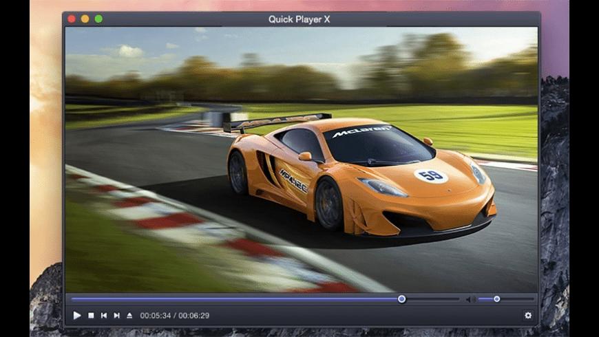 Quick Player X for Mac - review, screenshots