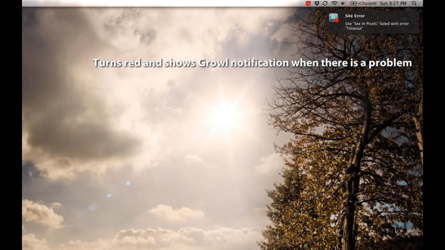 Web Monitor for Mac - review, screenshots