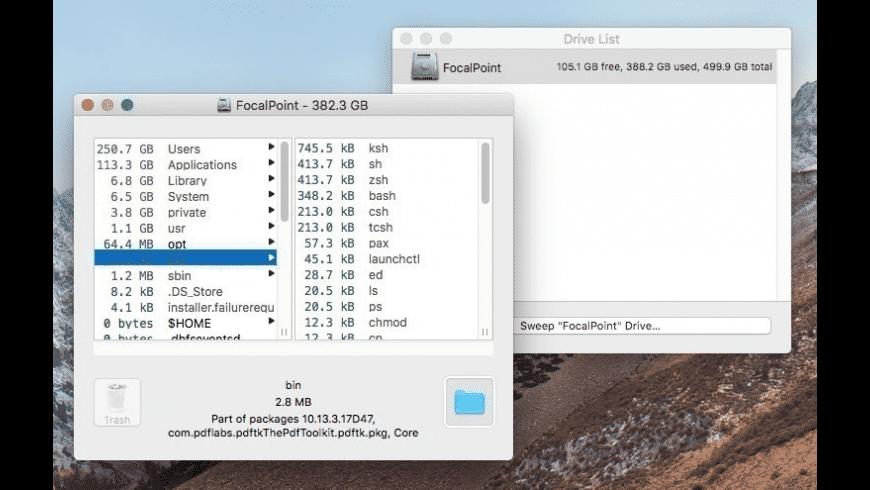 OmniDiskSweeper for Mac - review, screenshots