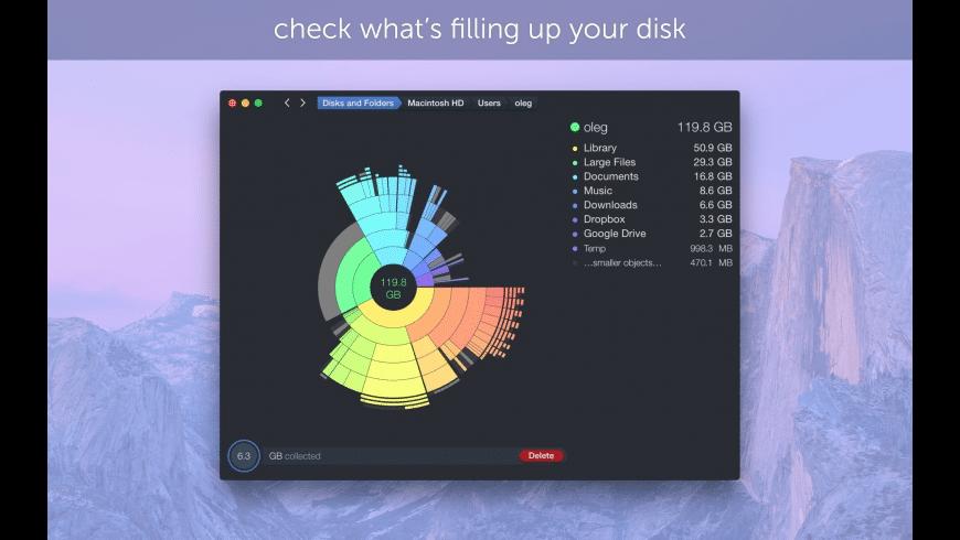 DaisyDisk for Mac - review, screenshots