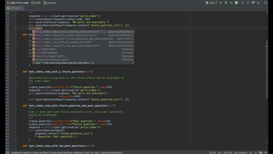 PyCharm Educational for Mac - review, screenshots