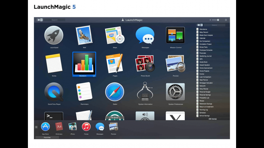 LaunchMagic for Mac - review, screenshots